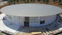 Apple Park: Drohnen-Video zeigt Fortschritte kurz vor dem Umzug