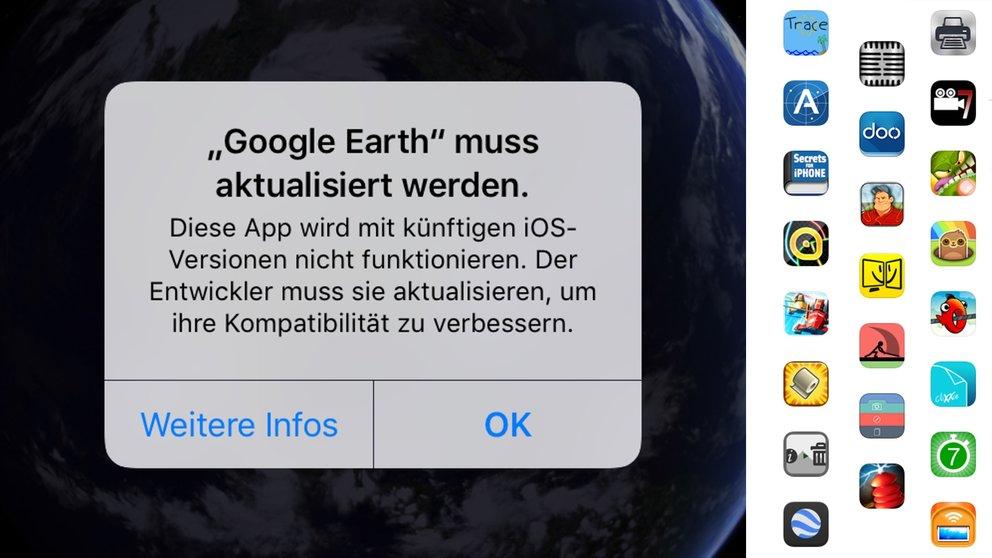 Diese Apps werden von iOS 11 nicht unterstützt (plus Alternativen)