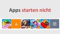Lösung: Windows 10 Apps starten nicht