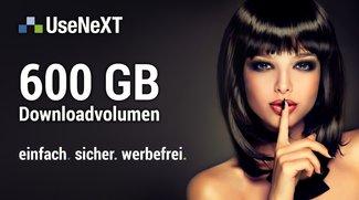 UseNeXT 30 Tage gratis nutzen: Doppelte Testphase und dreifaches Datenvolumen für GIGA-Leser