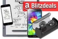 Blitzangebote & Prime Deals:<b>  50% auf AmazonBasics, AirPods-Alternative, Galaxy S5, Bamboo Slate</b></b>