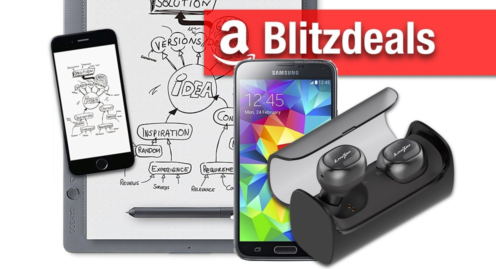 Blitzangebote & Prime Deals:  50% auf AmazonBasics, AirPods-Alternative, Galaxy S5, Bamboo Slate
