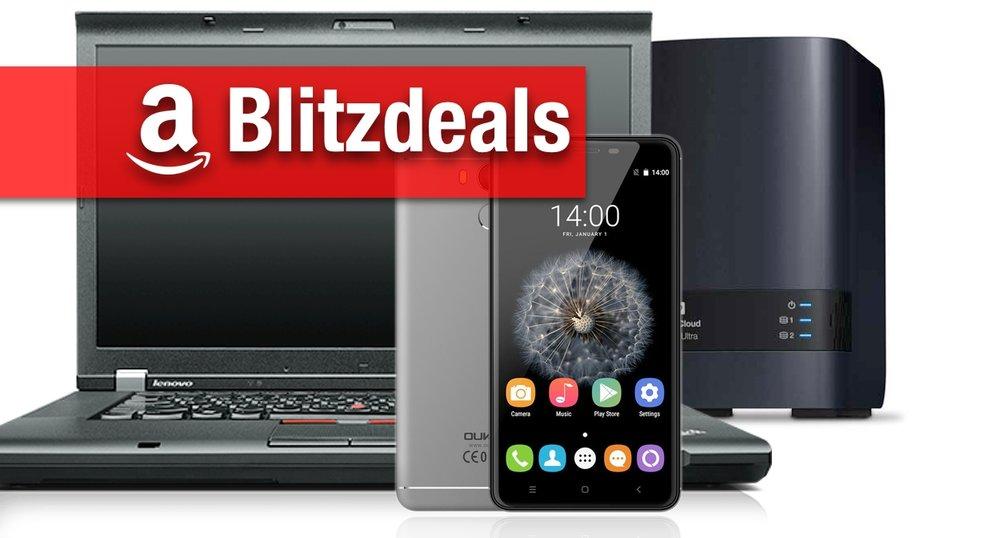 Blitzangebote: WD NAS mit 8 TB (2x 4 GB), Oukitel U15 PRO Smartphone, Thinkpad T530 günstiger
