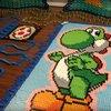 Dominoeffekt: Youtuber zollt Yoshi Tribut – mit über 16.000 Steinen