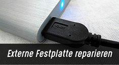 Eine externe Festplatte reparieren – So klappt's