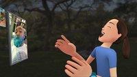Facebook Spaces: Echte Freunde in der virtuellen Realität treffen