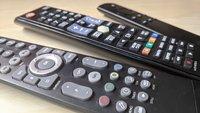 Fernbedienungscodes: Liste für Samsung, Sony, Grundig, Philips und Co.