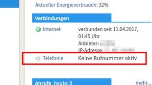 Fritzbox Rufnummer Nicht Aktiv