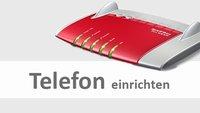 Fritzbox: Telefon einrichten – so geht's
