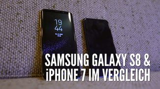 Samsung Galaxy S8 vs. iPhone 7: Videovergleich der ewigen Konkurrenten