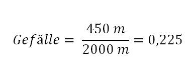Ein Gefalle Berechnen Prozent Und Winkel Giga