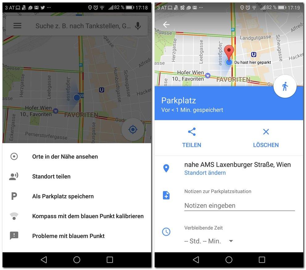 google-maps-parkplatzsuche