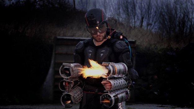 """Britischer """"Iron Man"""" baut funktionierenden Raketenanzug und hebt ab"""
