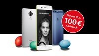 Huawei P10 (Plus) & Mate 9: Cashback in Höhe von 100 Euro zu Ostern