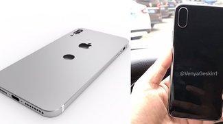 iPhone 8: Neue Renderings und Fotos eines Design-Dummy