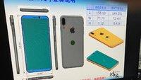 iPhone 8: Zeichnungen zeigen randloses Display und Touch ID auf der Rückseite