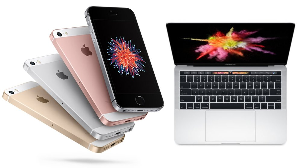 Apple MacBook Pro mit Touch Bar & iPhone SE zu Bestpreisen