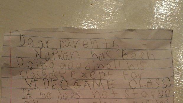 "Lieblingsfach ""Videospiele"": Schüler fälscht Schulbrief um länger zu zocken"