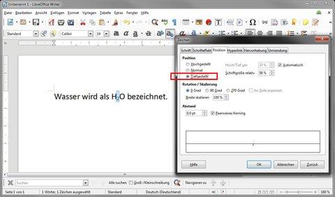 LibreOffice: Hier stellt ihr Zahlen tief.