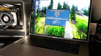 MacBook Pro mit GTX 1080 Ti in Thunderbolt-Gehäuse bringt vier Mal bessere Grafikleistung