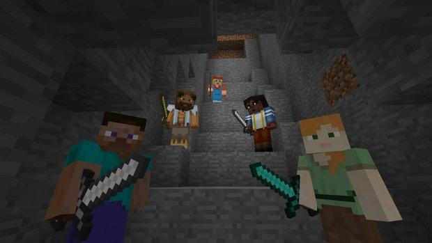 Minecraft: Spieler entwickeln MMO mit Klötzen