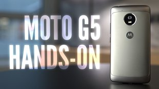 Moto G5: Günstiges Lenovo-Phone im Hands-On-Video