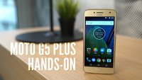 Moto G5 Plus: Kamera-Profi im Hands-On-Video