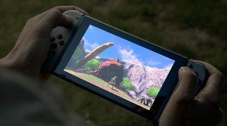 Nintendo Switch: Konsole überlebt Sturz aus 300 Meter Höhe