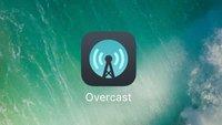 Overcast 3.1: Apple-Watch-Wiedergabe und neue Icon-Option