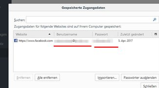 Passwörter aus dem Browser auslesen – so funktioniert's