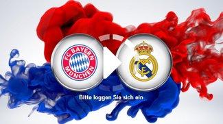 Fußball heute: Real Madrid – Bayern München - Live-Stream und TV-Übertragung heute