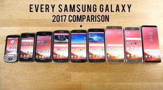 Samsung Galaxy: Neun Generationen im Speed-Vergleich