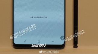 Design enthüllt: So sieht das Samsung Galaxy Note 8 aus