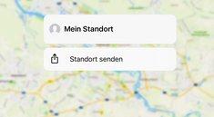 (Live-)Standort auf dem iPhone teilen, so gehts