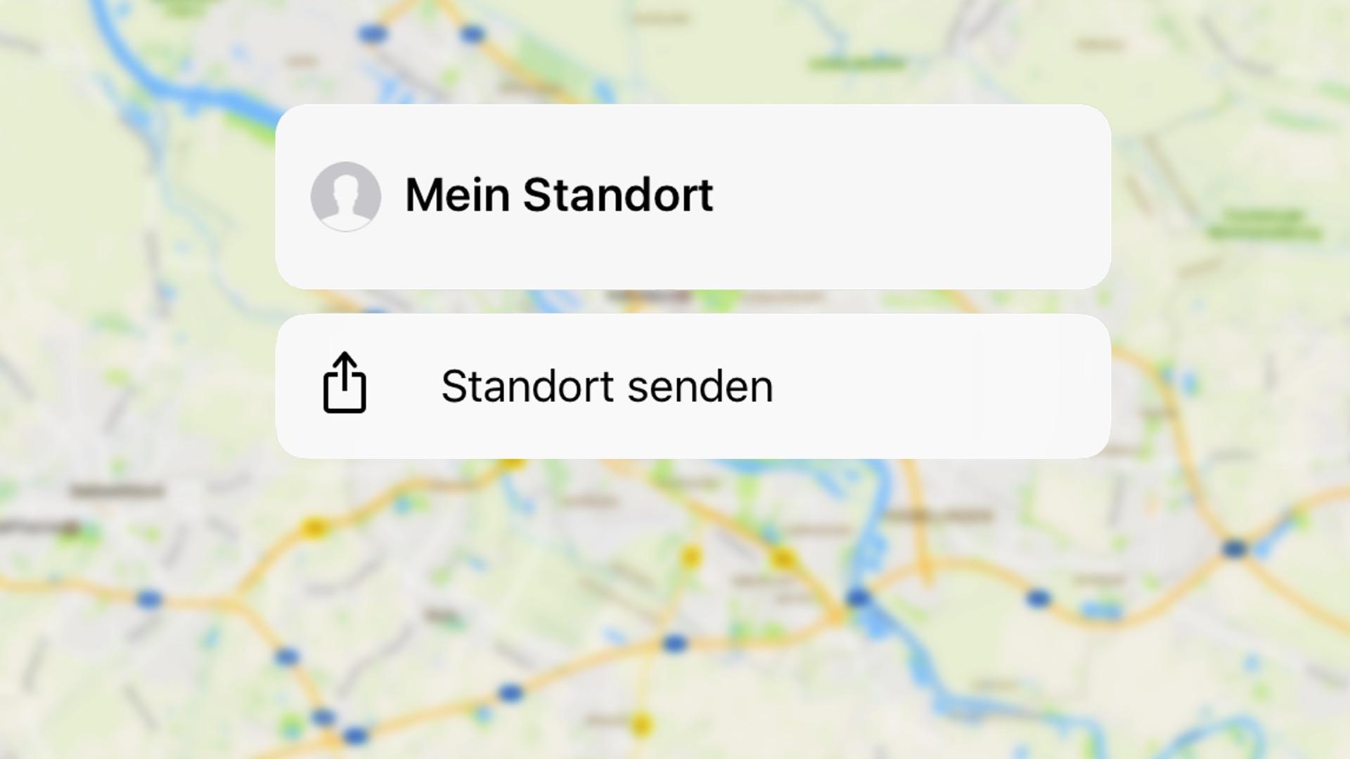 Freunde app standort faken