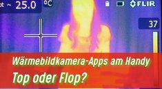 Wärmebildkamera-Apps: Wärmebilder auf dem Handy sehen?
