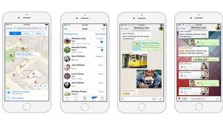 """WhatsApp bekommt """"Fotoalbum teilen"""", Text-Status und verbesserte Live-Location"""