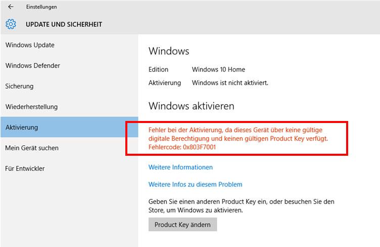 Windows 10 Fehler Auslesen