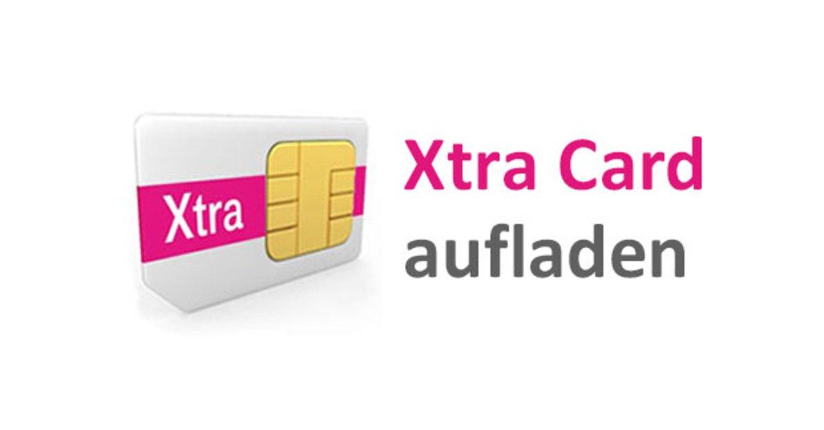 xtra karte Xtra Card aufladen & abfragen – so geht's