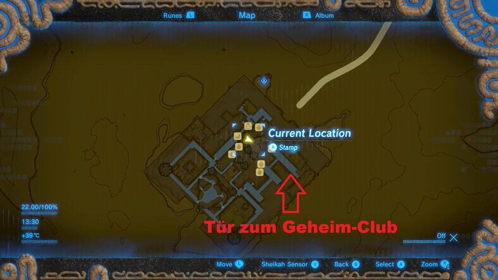 zelda-breath-of-the-wild-gerudo-passwort-geheim-club-karte