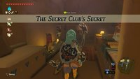 Zelda - Breath of the Wild: Gerudo-Passwort für den Geheim-Club