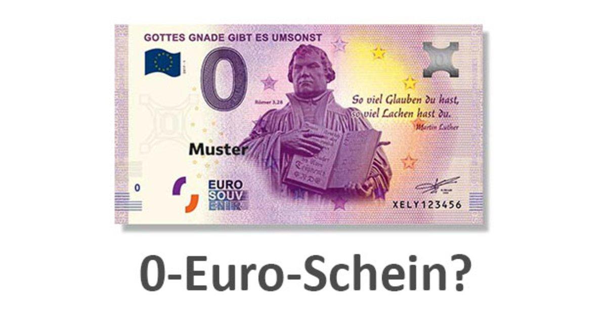 Wo Kann Man 0 Euro Schein Kaufen