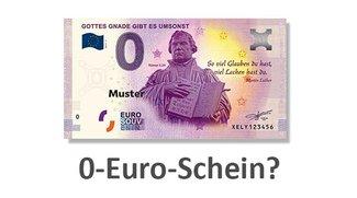 Was ist der 0-Euro-Schein? Wo kaufen?