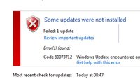 Lösung: 0x80073712 Windows-Fehler