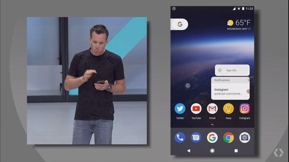 Android-O-Notifcation-Dot