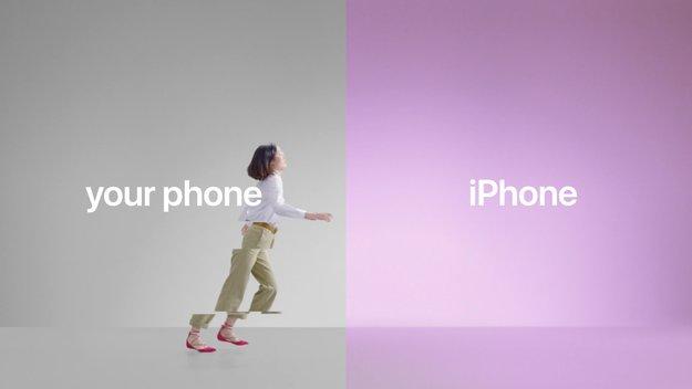 Von Android zum iPhone: Apple zeigt neue Videos für Switch-Kampagne