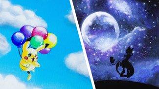 Träumerisch schön: Diese Pokémon-Gemälde gehören in jede Wohnung