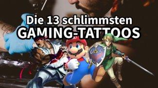 Ouch, das ging daneben: Die 13 schlimmsten Gaming-Tattoos