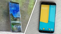 HTC U11 vs. Samsung Galaxy S8: Kampf um den Smartphone-Thron