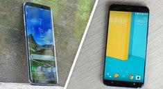 HTC U11 vs. Samsung Galaxy S8: Kampf um den Smartphone-Thron